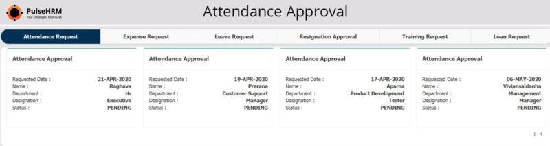 Attendance-Approval