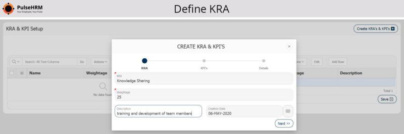 Define-KRA
