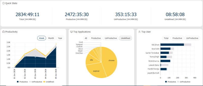 employee monitoring Dashboard 1