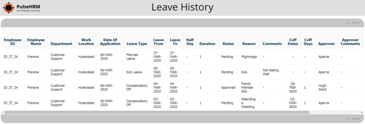 Leave History 2