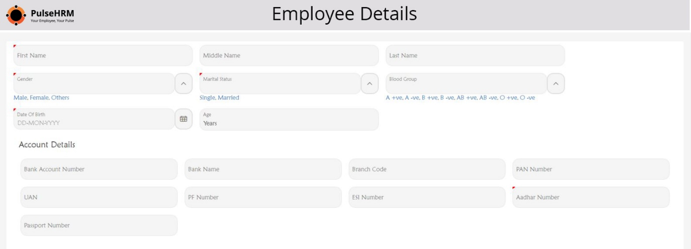 Onboarding of new employees